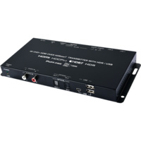 CH-1604TXD - 4K HDR HDMI over HDBaseT Transmitter with IR, RS-232, PoH (PSE), LAN & Bidirectional USB/KVM