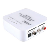 DCT-9DN - Bi-directional Digital/Analog Audio Converter with Dolby Digital Decoder