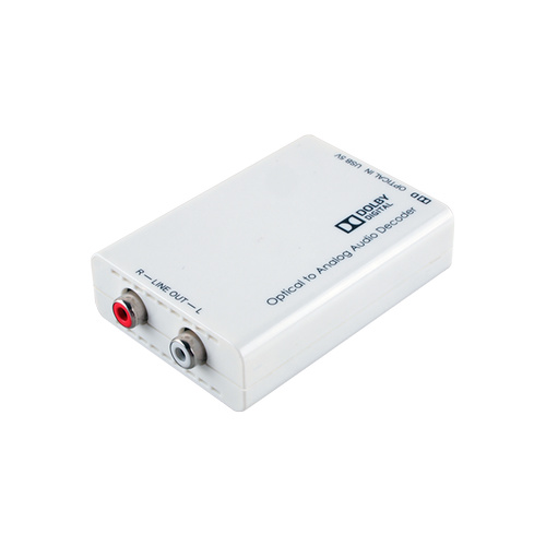 DCT-1D - Optical to Stereo Audio Converter with Dolby Digital Decoder